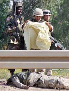 Getöteter US-Soldat (Juli 2003): Albträume und Schlaflosigkeit