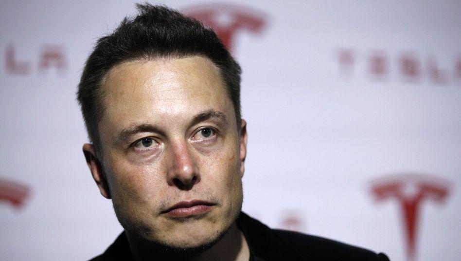 Tesla-Chef Elon Musk: Mindestlohn für den Milliardär