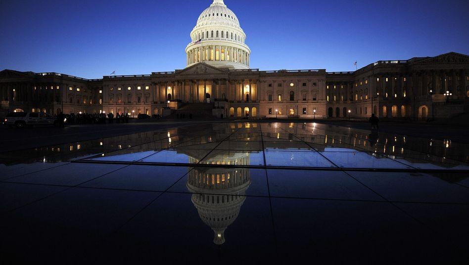 Kapitol in Washington: Historische Herabwürdigung einer Supermacht