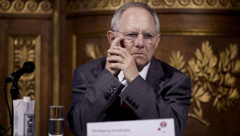 Bundesfinanzminister Schäuble: Den letzten ausgeglichenen Haushalt gab es 1969
