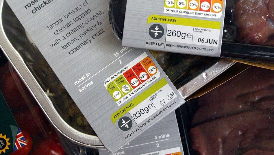 Lebensmittel-Kennzeichnung: Grün ist unbedenklich, bei Rot sollte man genau hinschauen