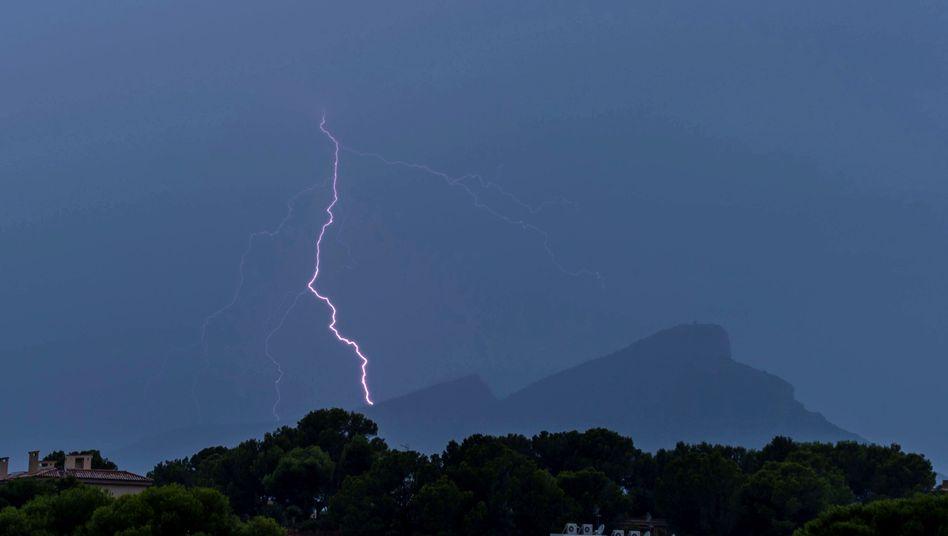 Gewitter über Mallorca