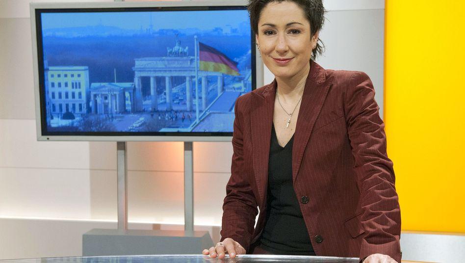 """Journalistin Dunja Hayali: """"Glaubt eigentlich irgendjemand, dass das irgendwas bringt, dieser ganze Hass?"""""""