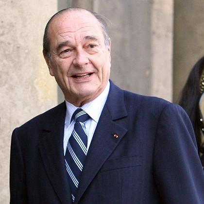 Präsident Jacques Chirac: Herausforderer von Google und Yahoo