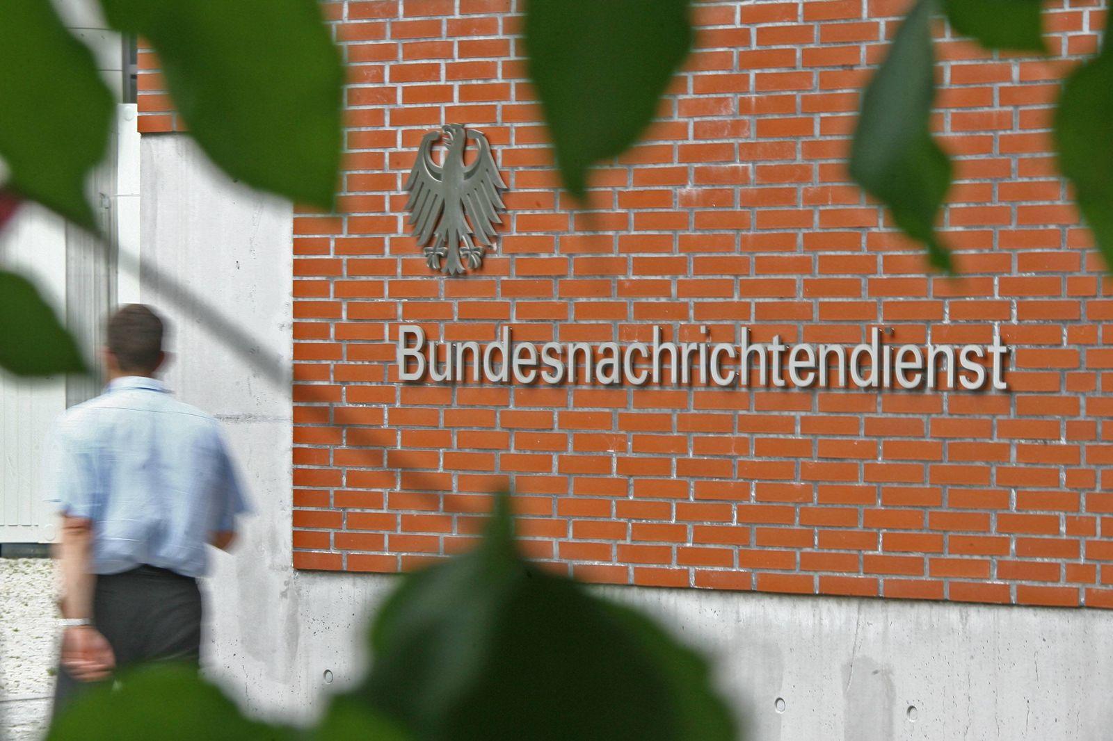 NICHT VERWENDEN Bundesnachrichtendienst/ Zentrale