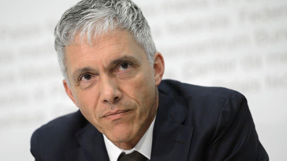 Schweizer Bundesanwalt Michael Lauber