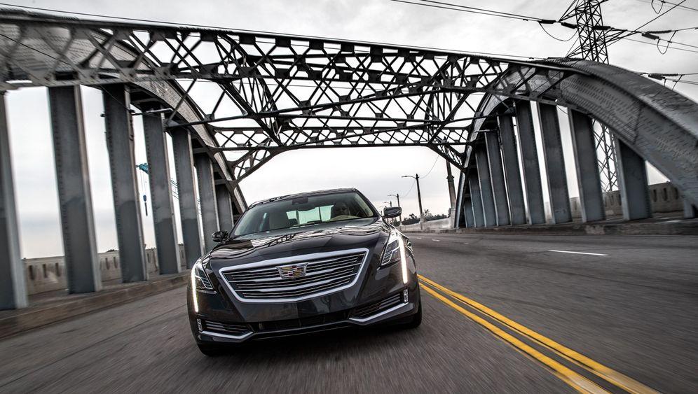 Autogramm Cadillac CT6: Leichter Lulatsch