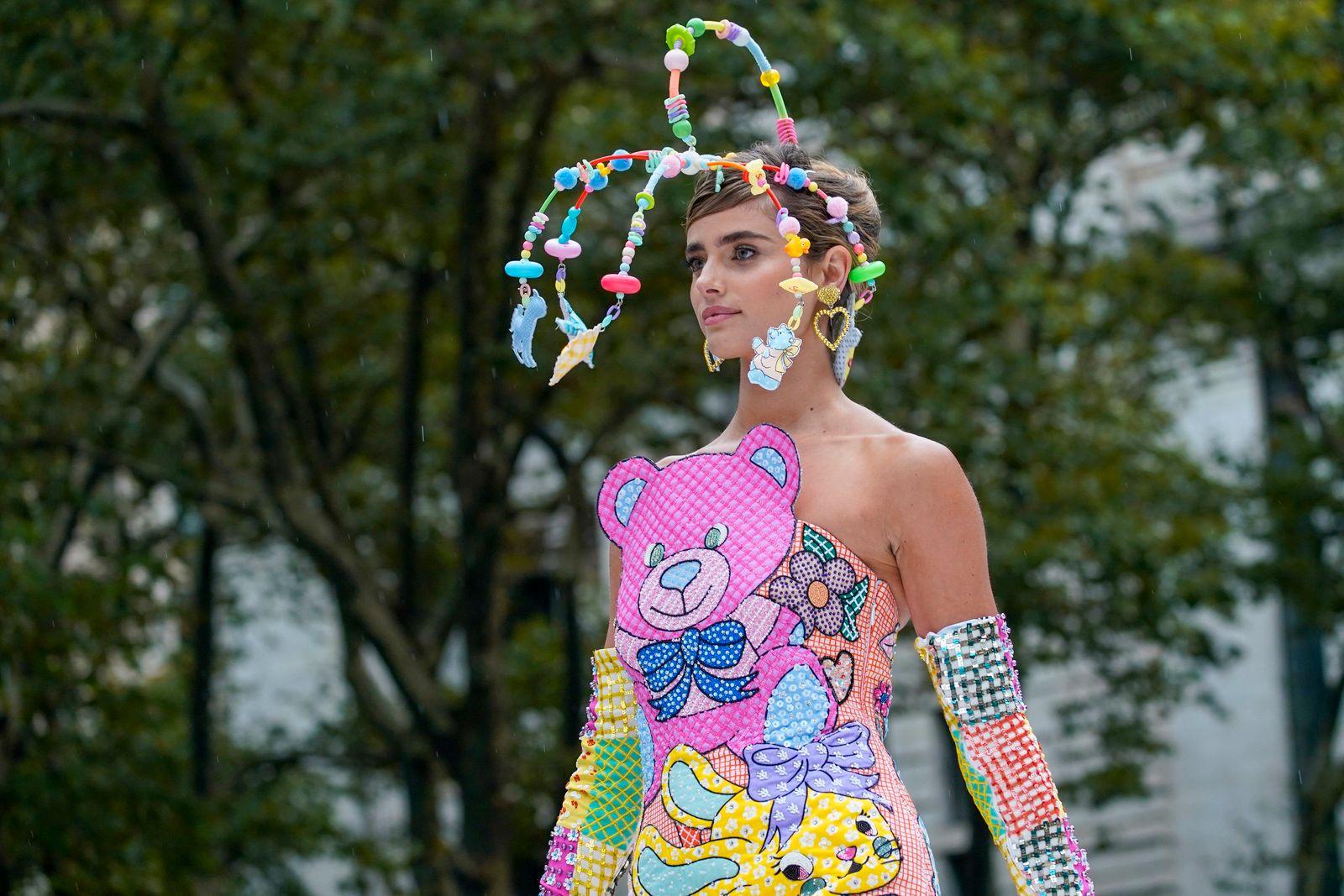 APTOPIX New York Fashion Week Moschino