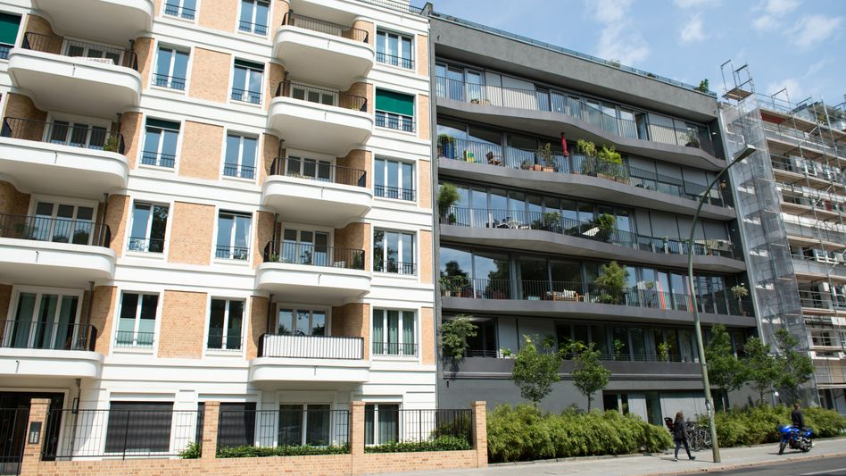 Wohnhäuser in Berlin-Mitte