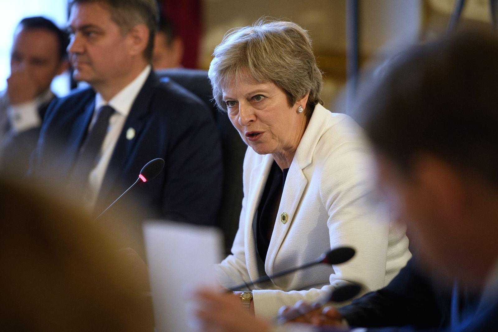 Theresa May/ Portrait