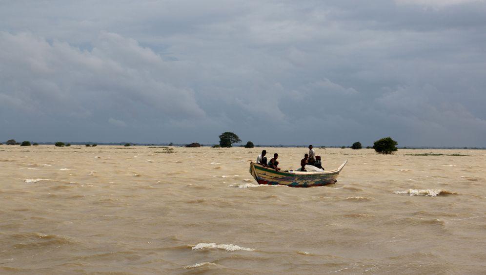 Flut in Burma: Land unter im Irrawaddy-Delta