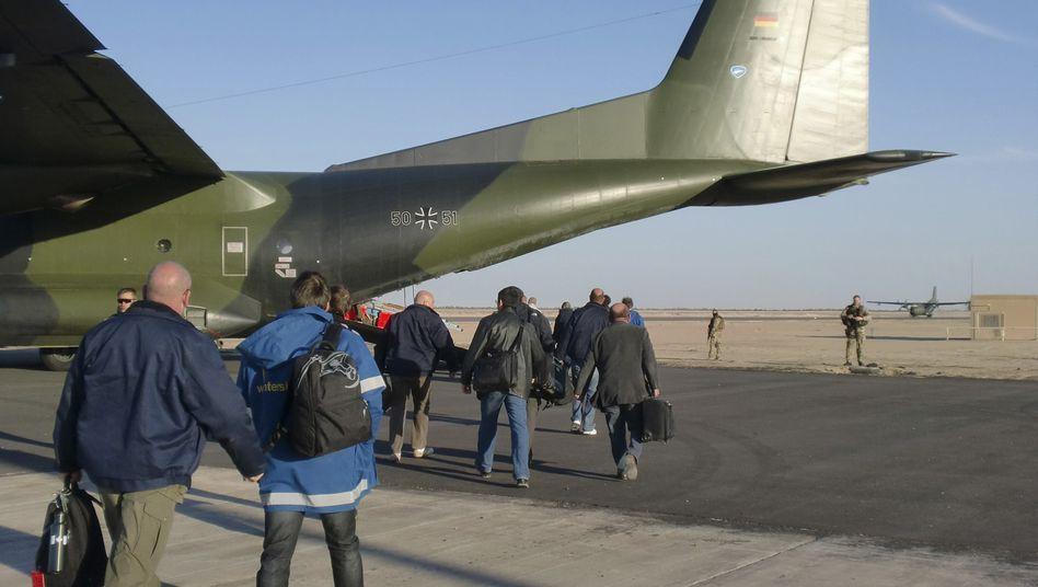 Transall-Maschinen der Bundeswehr: Spektakuläre Hilfsaktion