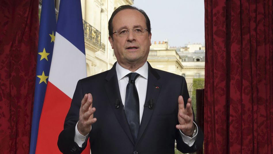 "Präsident Hollande: ""Es lebe Frankreich"""