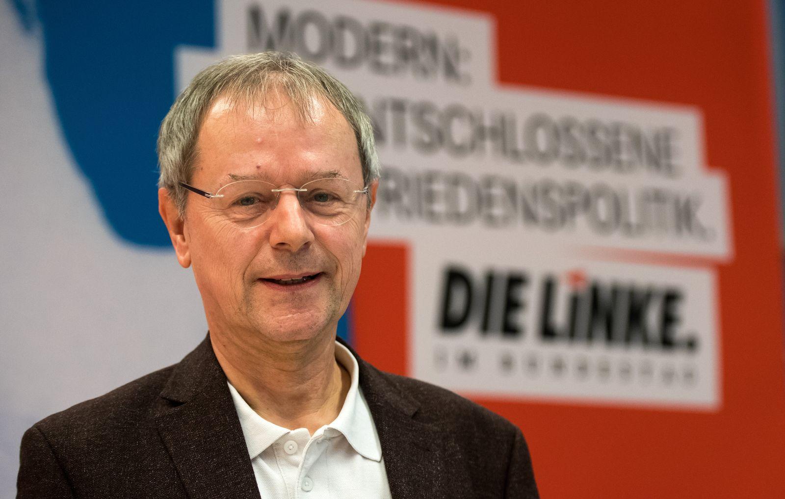 Linke-Bundespräsidentschaftskandidat Butterwegge