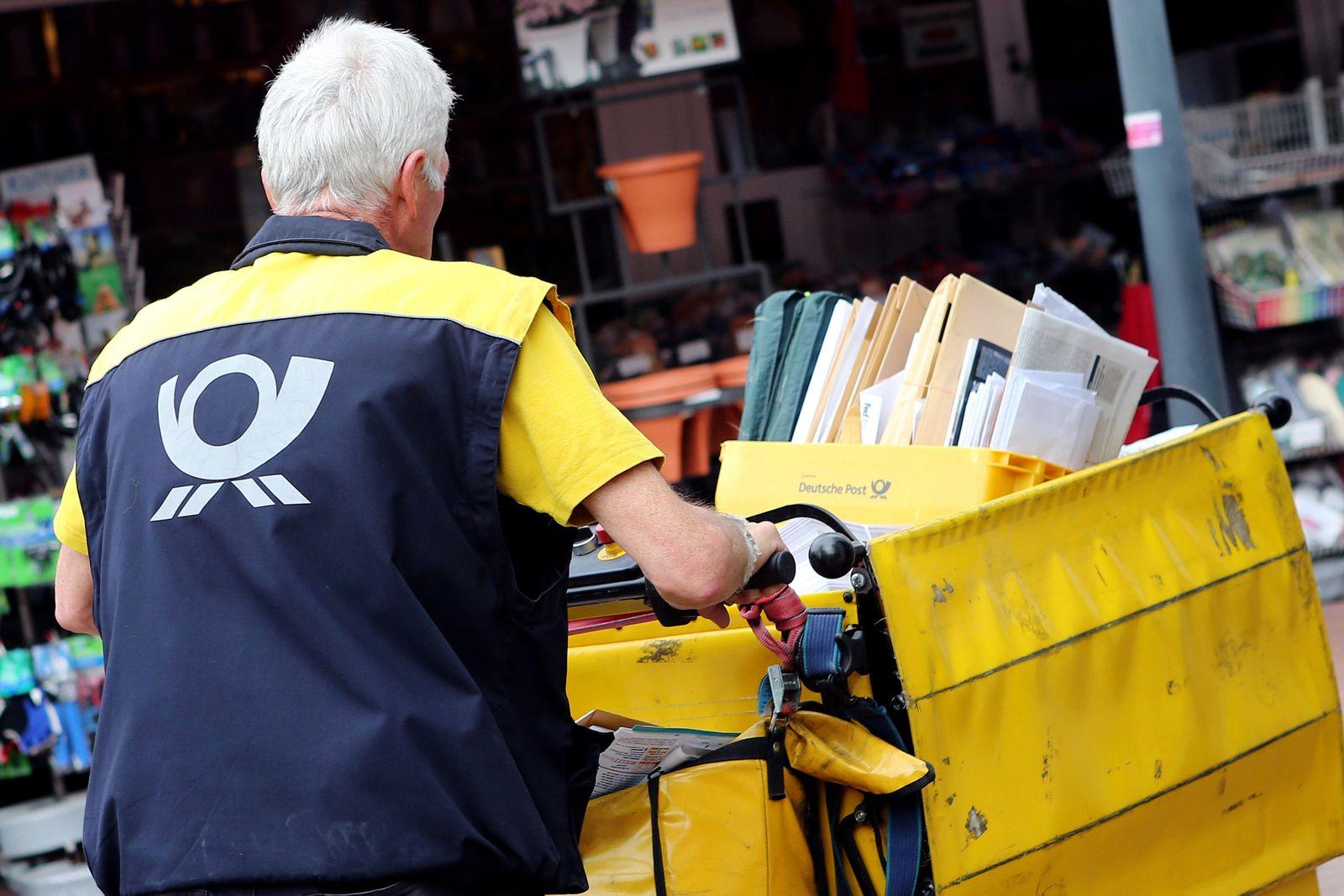 Warnstreiks bei der Deutschen Post AG