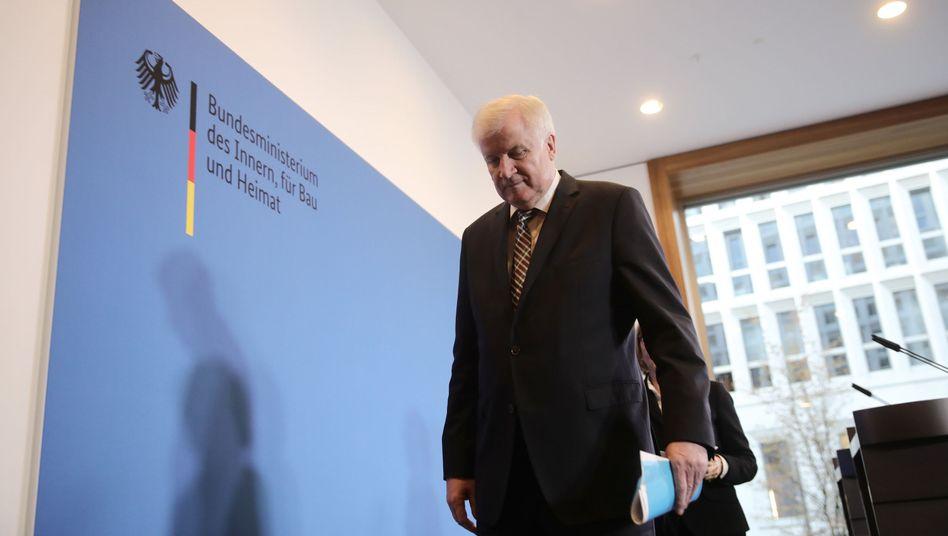 Innenminister Horst Seehofer (CSU)