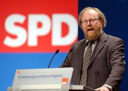 Bundestagspräsident Wolfgang Thierse: Geburtstagskind und Sparkommissar