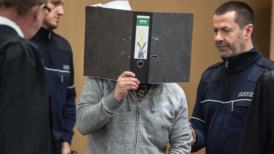Angeklagter im Landgericht Düsseldorf (Archivfoto)
