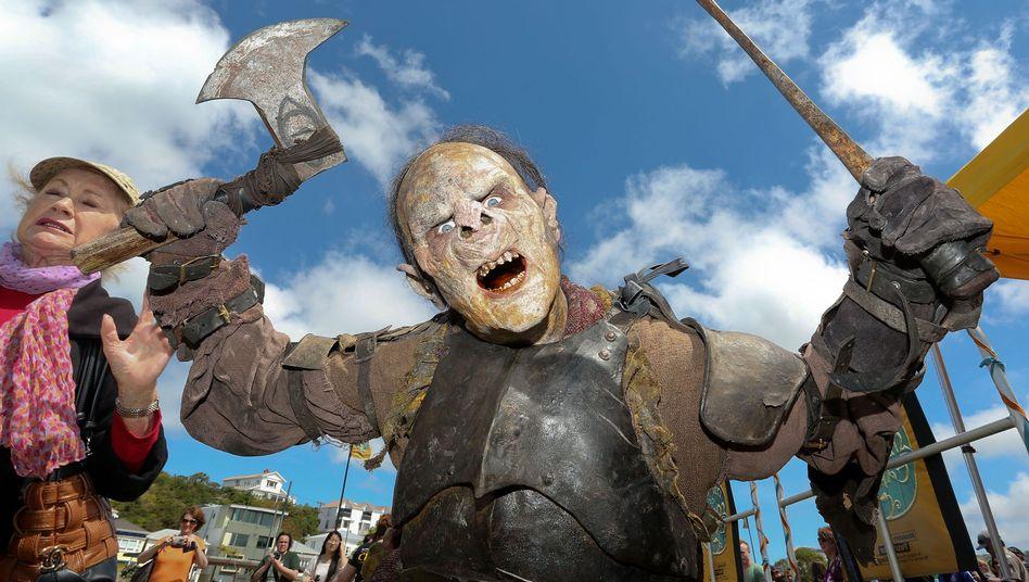 """Neuseeland im """"Hobbit""""-Rausch: Überall Zwerge! Und Orks! Und Gollum!"""