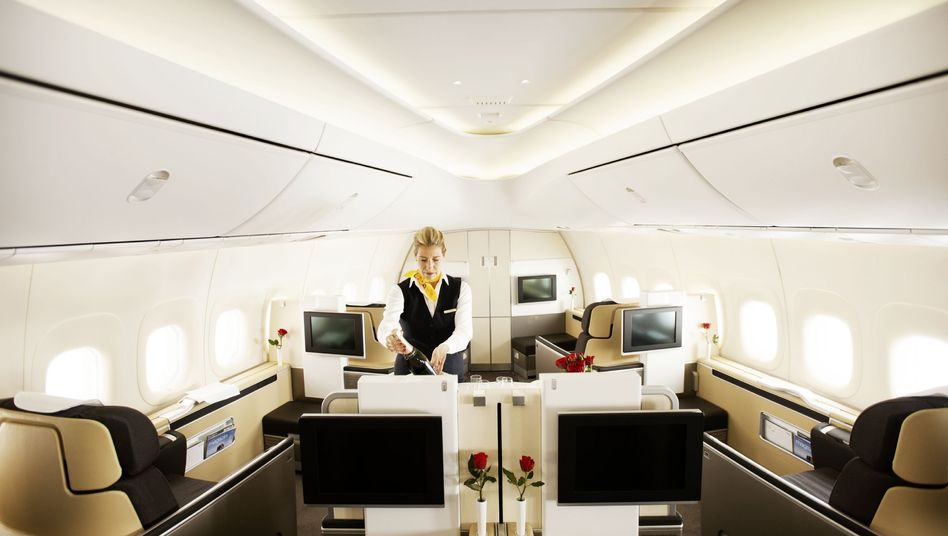 First Class der Lufthansa: Künftig für noch für zahlende Gäste