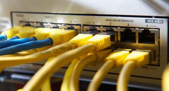 """Netzwerkkabel (Symbolbild): """"Handeln Sie jetzt"""""""