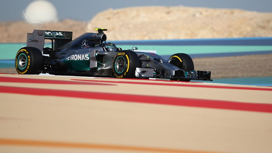 Mercedes-Pilot Rosberg: Pole in Bahrain