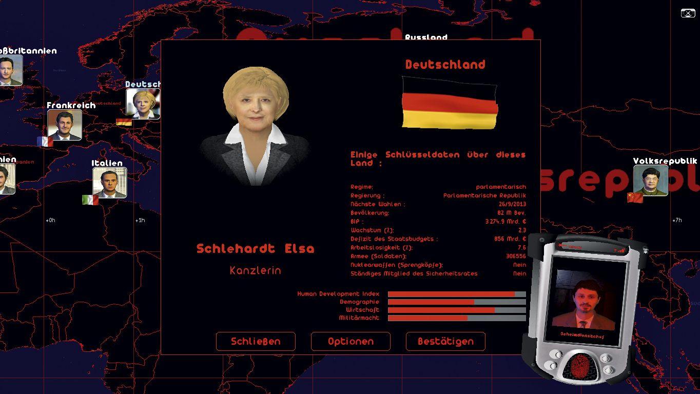 SCREENSHOT Politiksimulator / GEE / Netzwelt