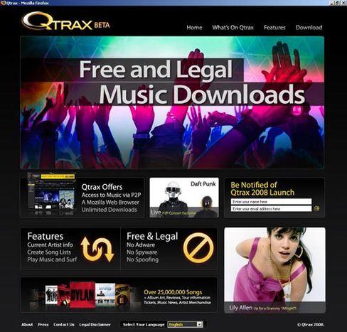 Bremse für Qtrax: Fürchtet sich da jemand - oder wollen die Labels nur mehr herausholen?