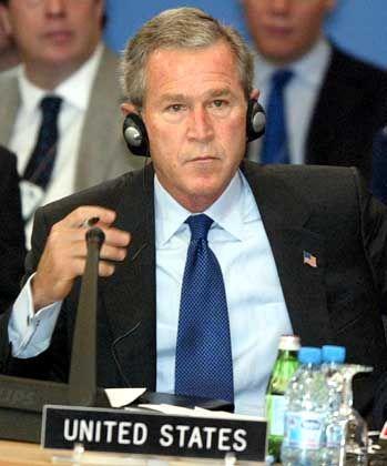 US-Präsident Bush: Eine bessere Welt ohne Saddam