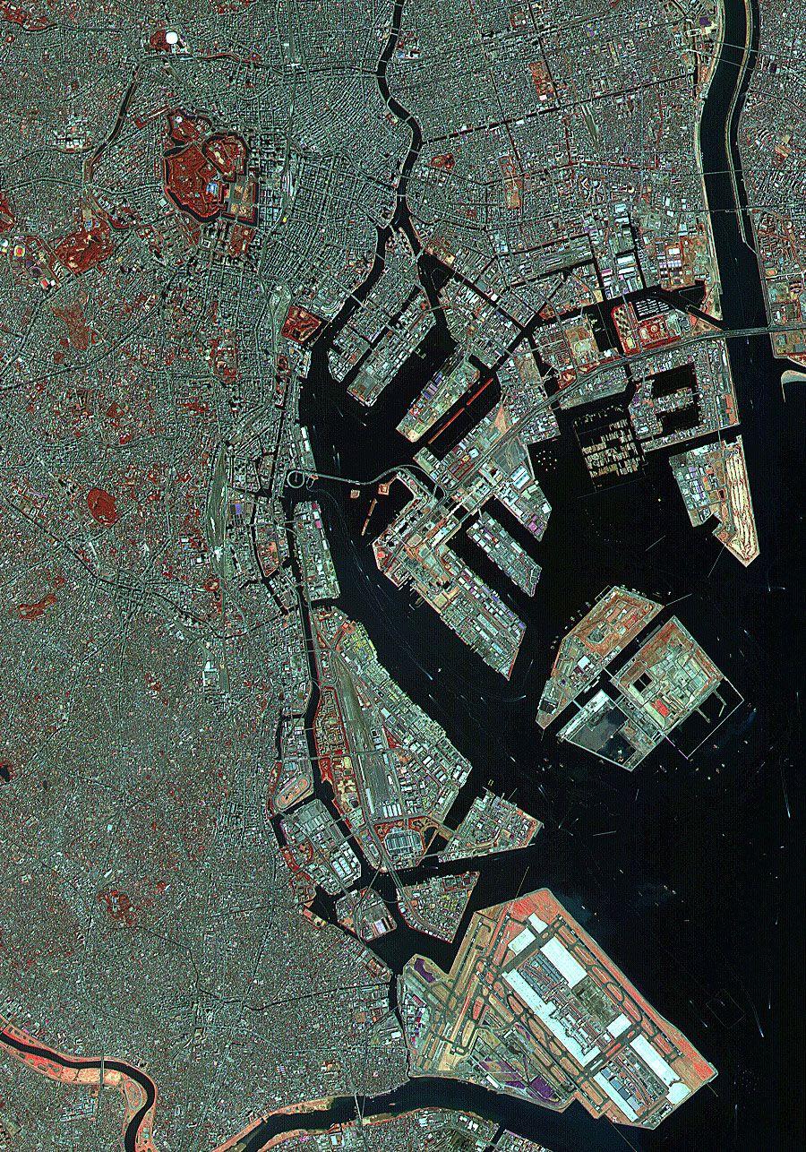 Satellitenbild / Tokyo