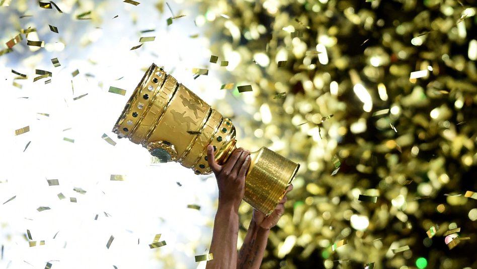 Nur noch drei Siege sind die Teams im DFB-Pokal-Viertelfinale vom Pokalsieg entfernt