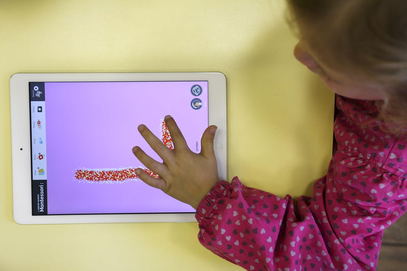 EINMALIGE VERWENDUNG Kita/ Tablet
