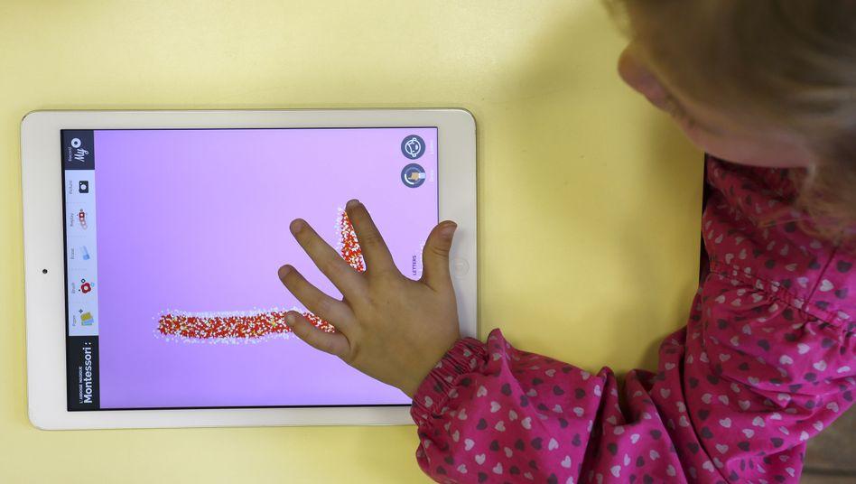 Über den sinnvollen Einsatz digitaler Endgeräte in Kitas gibt es bisher kaum Erkenntnisse