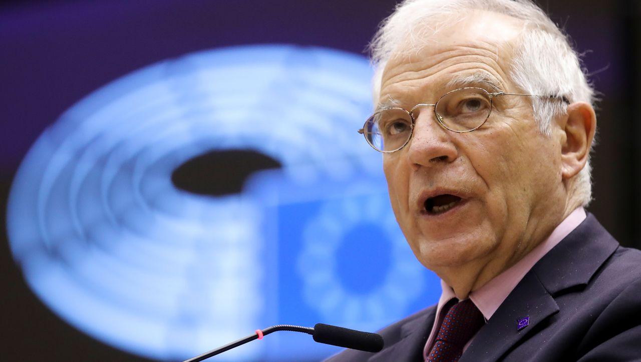 Nach Rücktrittsforderungen: EU-Außenbeauftragter Borrell droht Russland mit Sanktionen - DER SPIEGEL