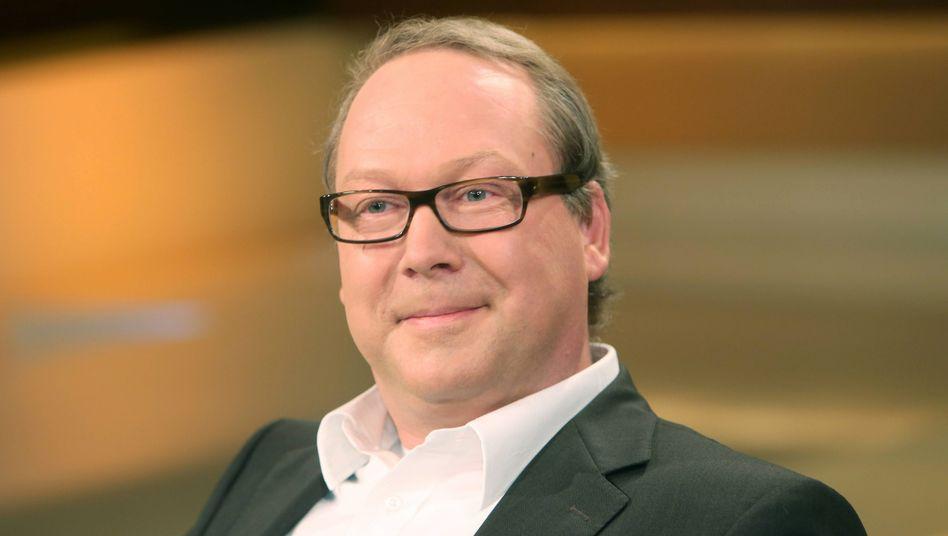 Max Otte in der ARD-Talkshow Anne Will.
