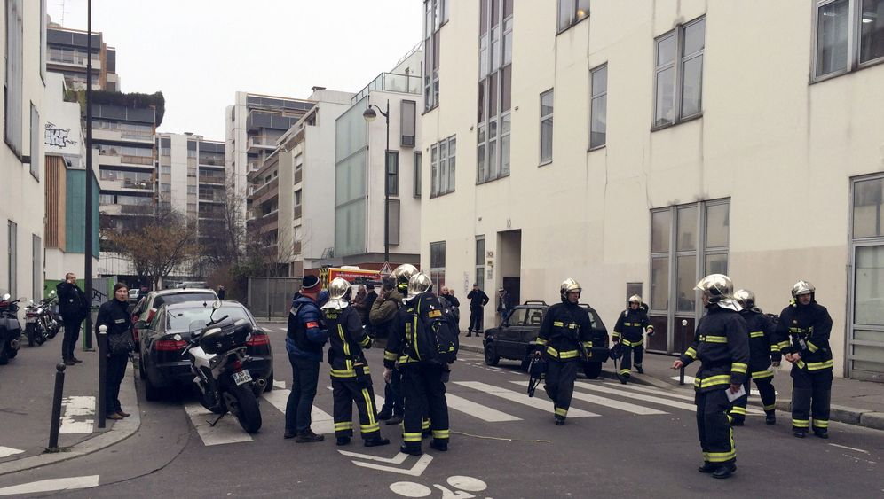 Mehrere Tote in Paris: Blutiger Anschlag auf Satiremagazin