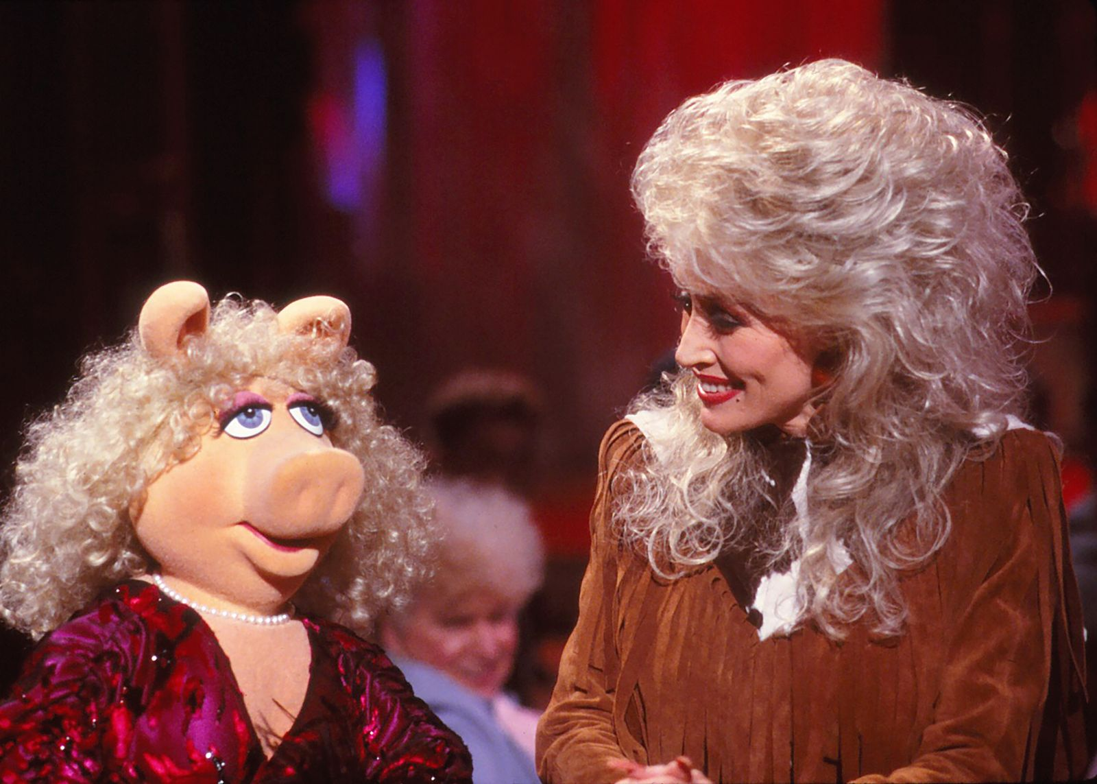 Dolly Parton and Miss Piggy