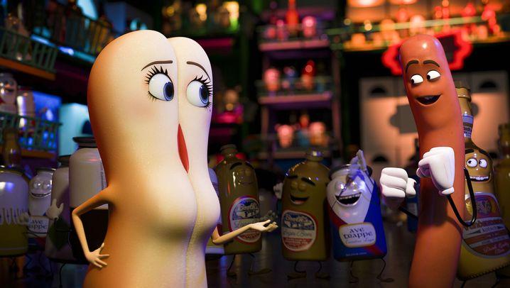 """Animationsfilm """"Sausage Party"""": Die Wurst will ins Brötchen"""
