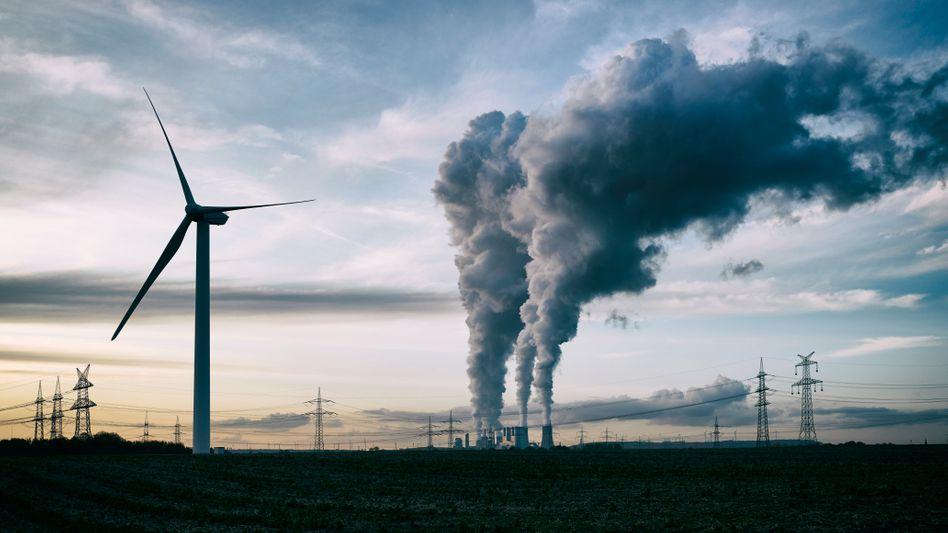 Unterschiedlich umweltfreundliche Formen der Energieversorgung