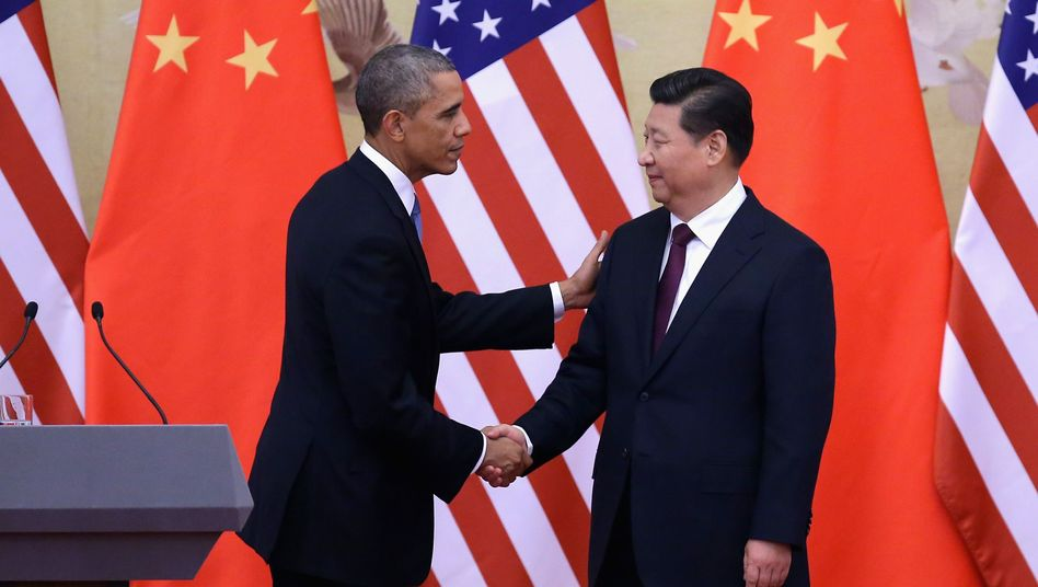 Staatschefs Obama (l.), Xi: Washington beschwert sich in Peking