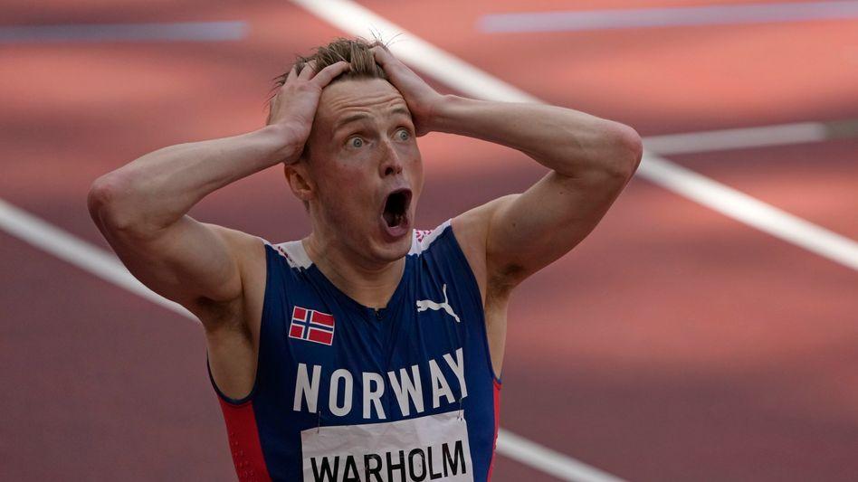 Karsten Warholm: Der Schrei nach dem Weltrekord