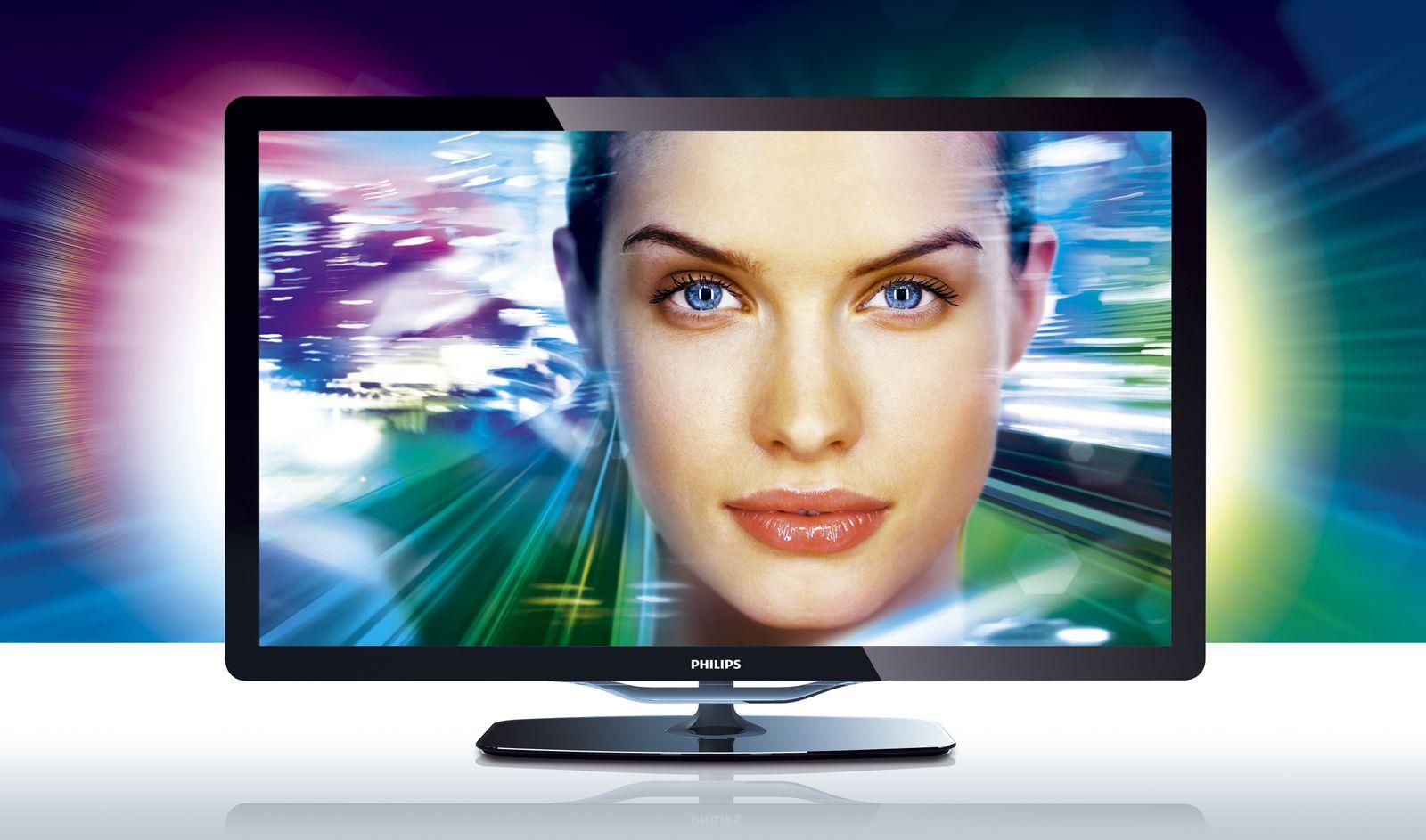 Philips 46PFL8605K Fernseher Ambilight
