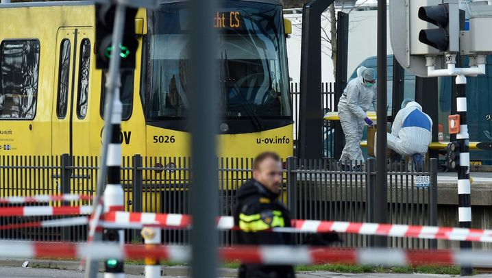 Drei Tote, fünf Verletzte: Die Bluttat von Utrecht
