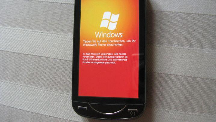 Ein bisschen Fingerfertig: Windows Mobile 6.5