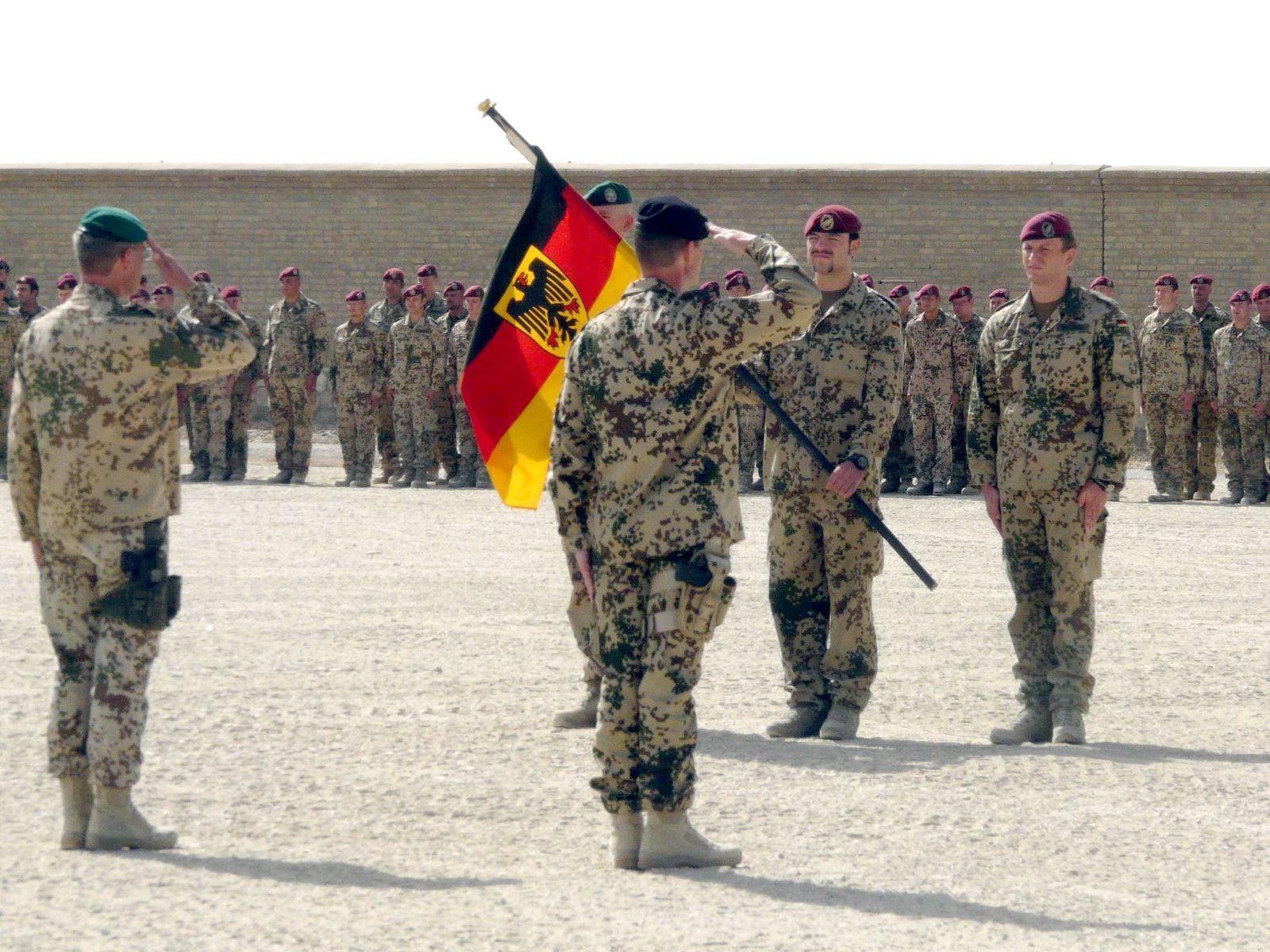 Deutsche Soldaten in Kundus