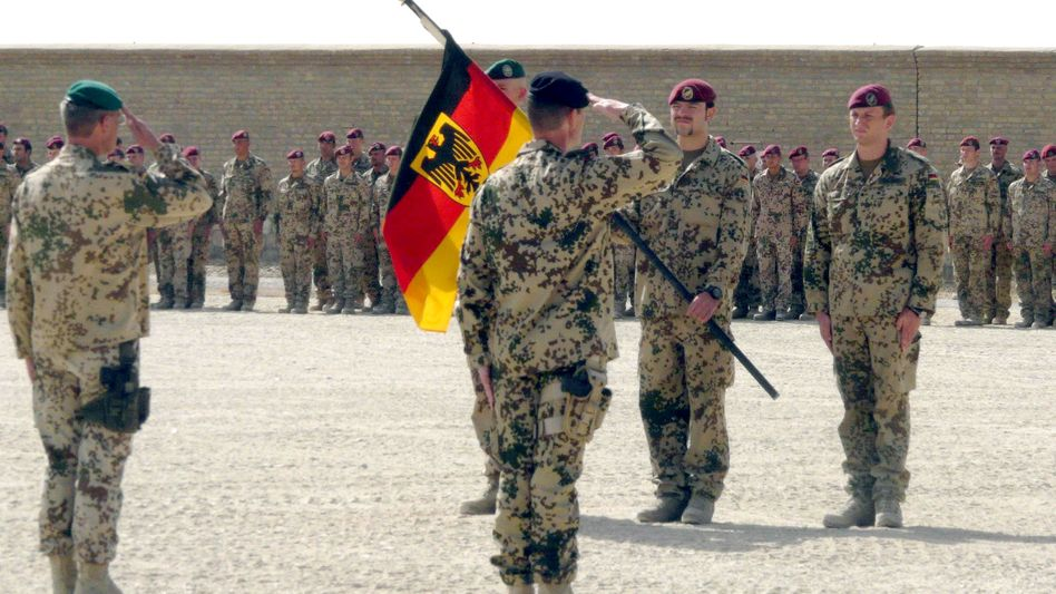 Pressing issues: The new German government will have to make some tough decisions on foreign affairs. One of the toughest will involve German troops in Afghanistan.