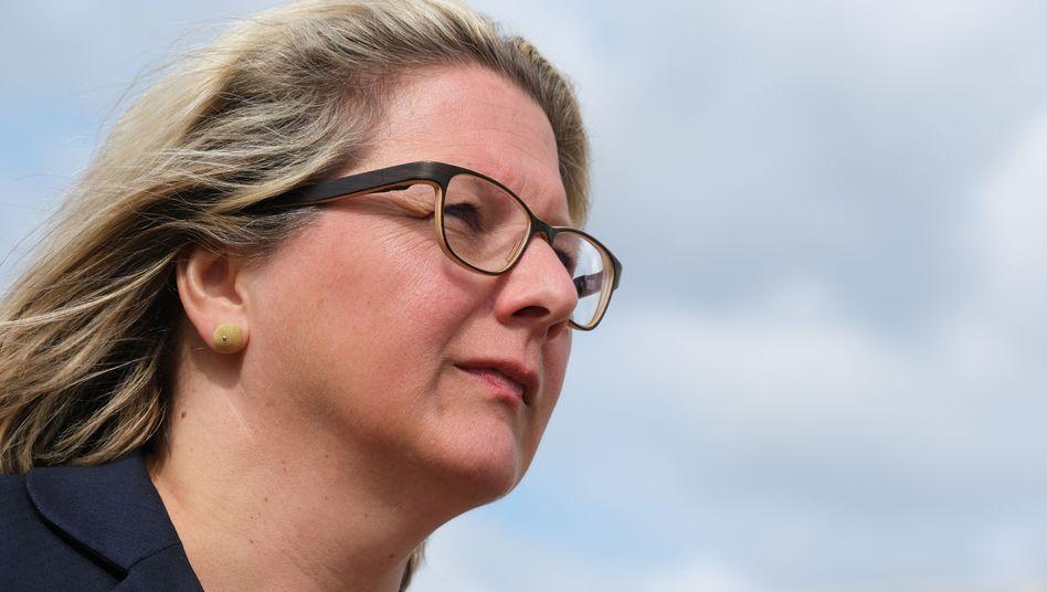 """Svenja Schulze: Mit """"Schönrechnereien"""" habe sich die Regierung schon viele Probleme gemacht"""