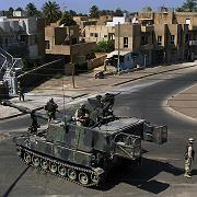 """US-Soldaten am Eingang des Sunnitenviertels Adhamiya: """"Sind wir in der Westbank?"""""""
