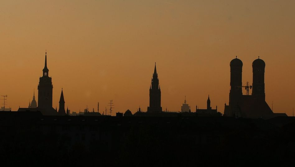 Münchner Skyline: bei Immobilien Deutschlands teuerste Stadt