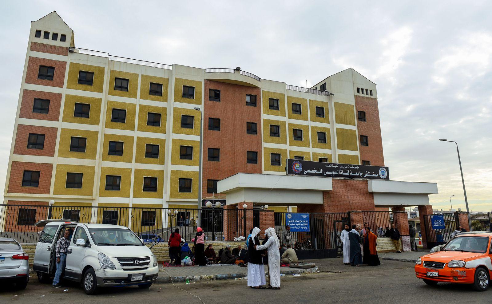 EINMALIGE VERWENDUNG Suez Canal University Hospital/ Anschlag/ Moschee/ Sinai